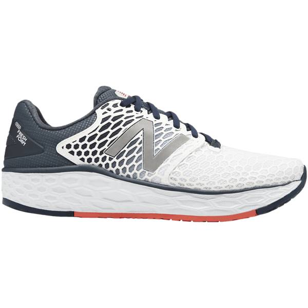 New Balance M Freshfoam Vongo Juoksukengät WHITE/DARK NAVY (Sizes: US 9)
