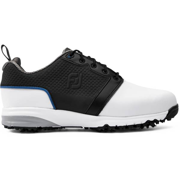 Footjoy M Contour Fit Golfkengät WHITE/BLACK (Sizes: US 9.5)