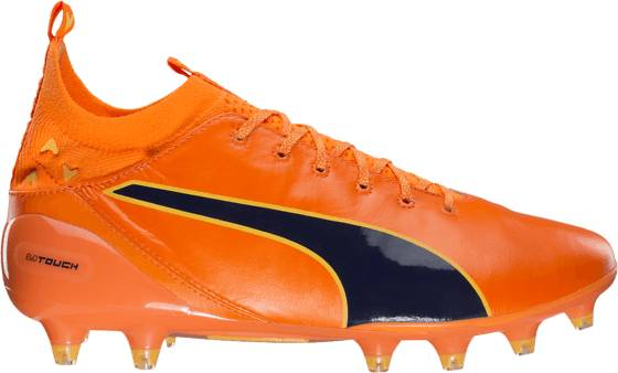 Puma Jalkapallokengät Puma Evotouch Pro Fg ORANGE CLOWN FISH (Sizes: UK 8)