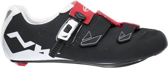 Northwave Pyöräilykengät Northwave U Road Phantom Srs BLACK/RED/WH (Sizes: 43)