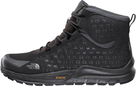 The North Face Trekkingkengät The North Face M Mountain Sneaker Mid TNF BLACK/SM PEARL (Sizes: US 8.5)