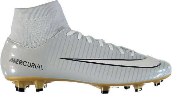 Nike Jalkapallokengät Nike Mercurial Victory Df Cr7 Fg PURE PLATINUM/WHIT (Sizes: US 9)