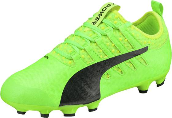 Puma Jalkapallokengät Puma J Evopower Vigor 1 GREEN GECKO/PUMA B (Sizes: UK 4)