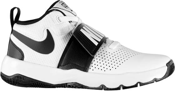 Nike Treenikengät Nike B Team Hustle D 8 Gs WHITE/BLACK (Sizes: US 7)