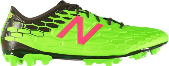 New Balance Visaro 2.0 Pro Ag Jalkapallokengät ENERGY LIME/MILITA (Sizes: US 10.5)