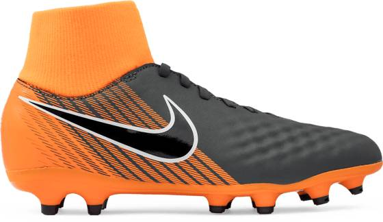 Nike Jr Obra 2 Academy Df Fg Jalkapallokengät DARK GREY/ORANGE (Sizes: US 1.5)