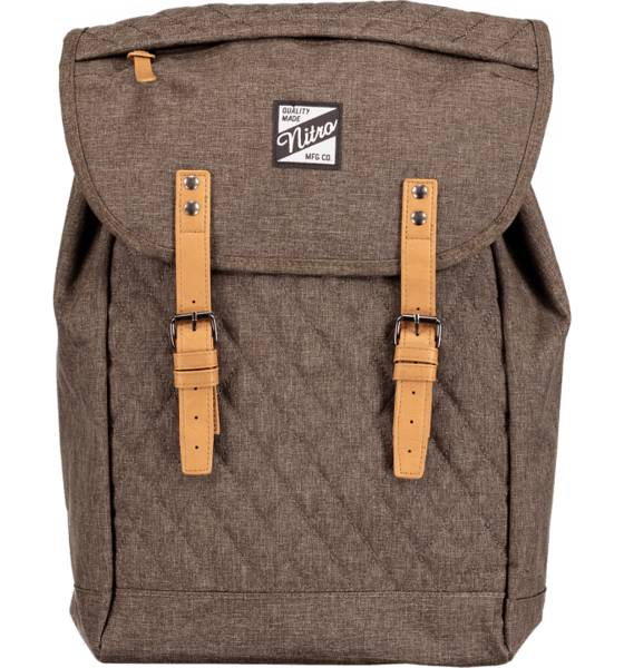 Nitro Reput Nitro Venice Backpack BURNT OLIVE (Sizes: One size)