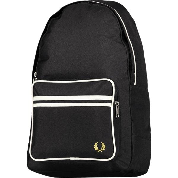 Fred Perry Twin Tipped Back Pack Reput BLACK (Sizes: One size)