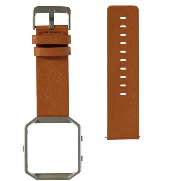 Fitbit Sykemittarit Fitbit Blaze Leather Band CAMEL (Sizes: S)