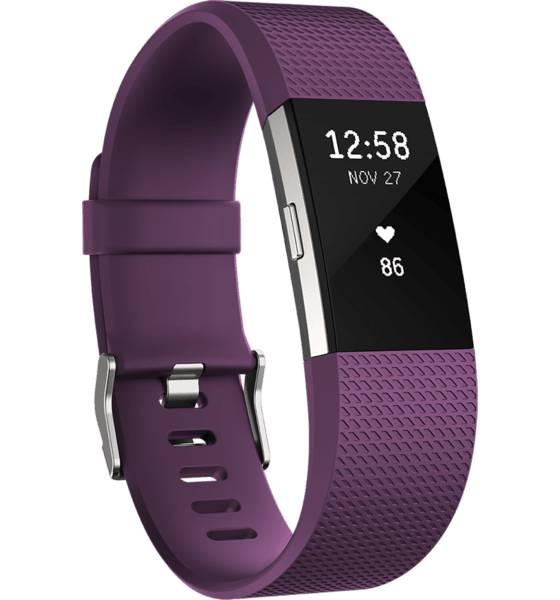 Fitbit Sykemittarit Fitbit Charge 2 PLUM (Sizes: S)