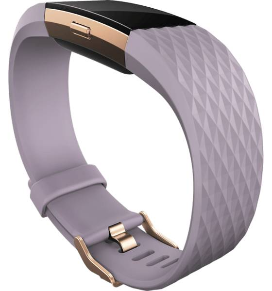 Fitbit Charge 2 Sykemittarit LAVENDER/ROSE GOLD (Sizes: S)