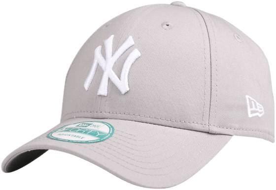 New Era 940 Lippikset LIGHT GREY/WHITE (Sizes: One size)