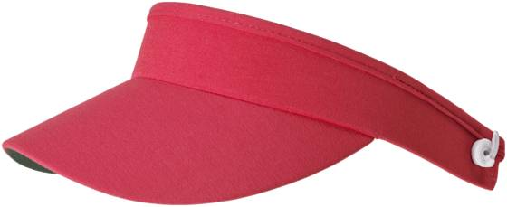 Daily Sports Golfvaatteet Daily Sports Marina Adj Visor RED (Sizes: One size)