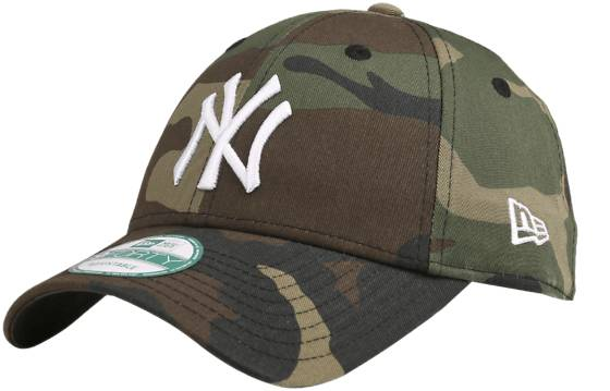 New Era 940 Camo Basic Cap Lippikset CAMO NY (Sizes: One size)