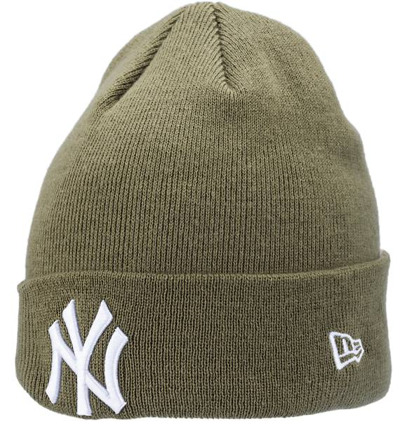 New Era Ess Cuff Knit Pipot ja otsapannat OLIVE WHITE (Sizes: One size)