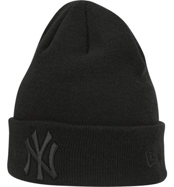 New Era Pipot ja otsapannat New Era Basic Cuff Knit BLACK/BLACK (Sizes: One size)