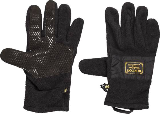 Burton Käsineet & lapaset Burton Ember Fleece Glove TRUE BLACK (Sizes: L)