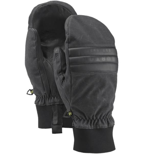 Burton Käsineet & lapaset Burton M Dam Mitt TRUE BLACK WAXED (Sizes: XL)