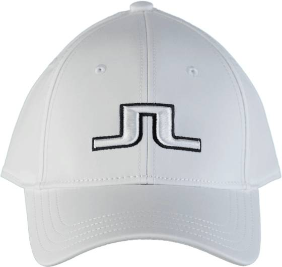 J Lindeberg Golfvaatteet J Lindeberg Angus Tech Stretch Cap WHITE (Sizes: One size)