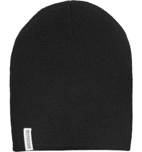 Wear Colour Pipot ja otsapannat Wear Colour Rib Beanie BLACK (Sizes: One size)