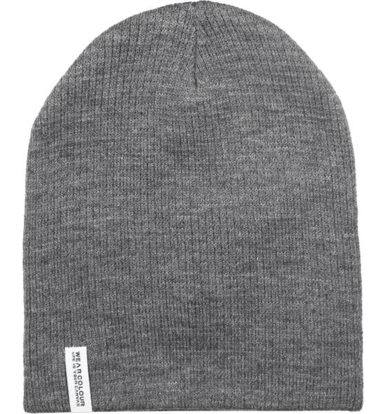 Wear Colour Pipot ja otsapannat Wear Colour Rib Beanie GREY MELANGE (Sizes: One size)