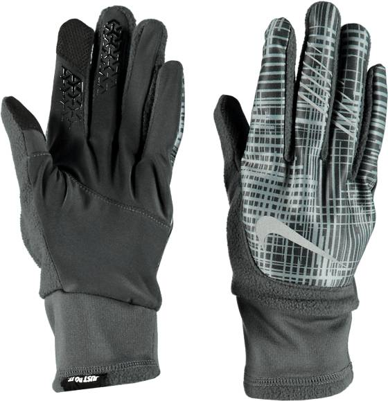 Nike Juoksuvaatteet Nike M Therma-fit Elite Run Gloves ANTHRACITE/COOL GR (Sizes: L)