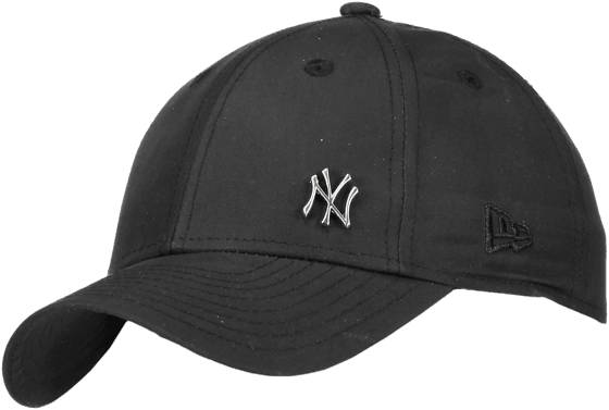 New Era 940 Flawless Lippikset BLACK/BLACK (Sizes: One size)