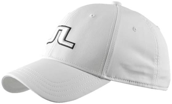 J Lindeberg M Angus Tech Cap Golfvaatteet WHITE (Sizes: One size)