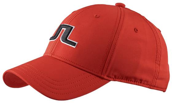 J Lindeberg M Angus Tech Cap Golfvaatteet RACING RED (Sizes: One size)