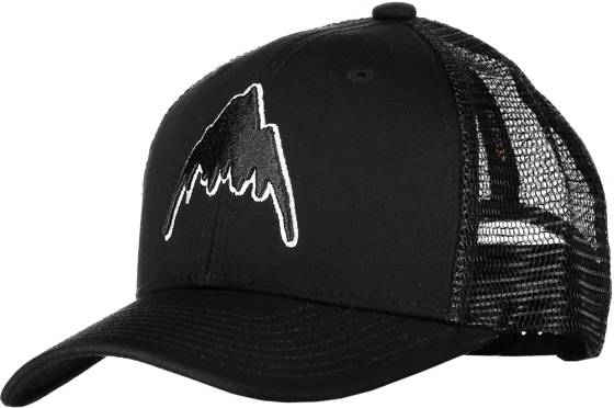 Burton J Hardwood Cap Lippikset TRUE BLACK (Sizes: One size)