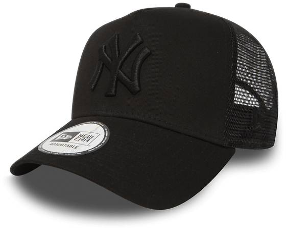 New Era Clean Trucker Lippikset BLACK/BLACK (Sizes: One size)