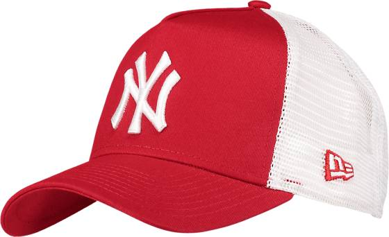 New Era Clean Trucker 2 Lippikset RED/WHITE (Sizes: One size)