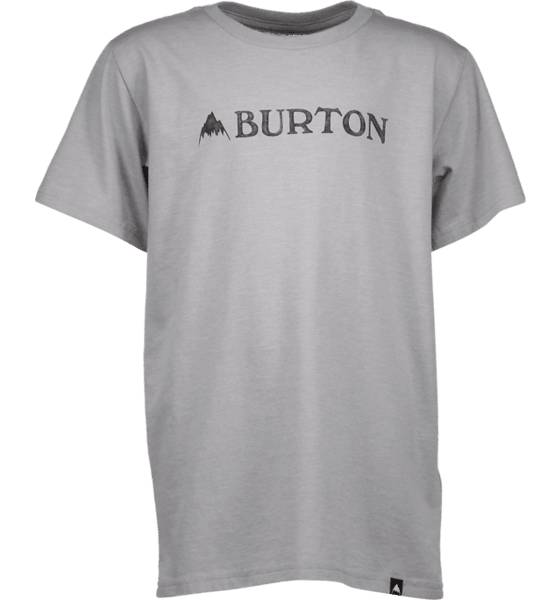 Burton T-paidat Burton B Mountain Horizontal Ss Tee GRAY HEATHER (Sizes: M)