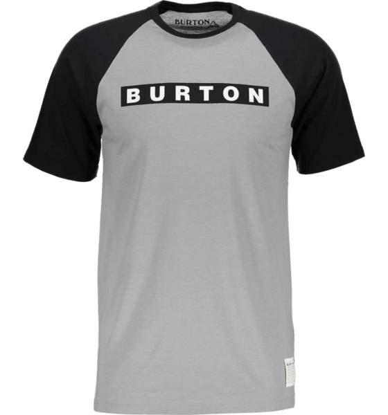 Burton T-paidat Burton M Vault Ss Tee GREY HEATHER (Sizes: S)