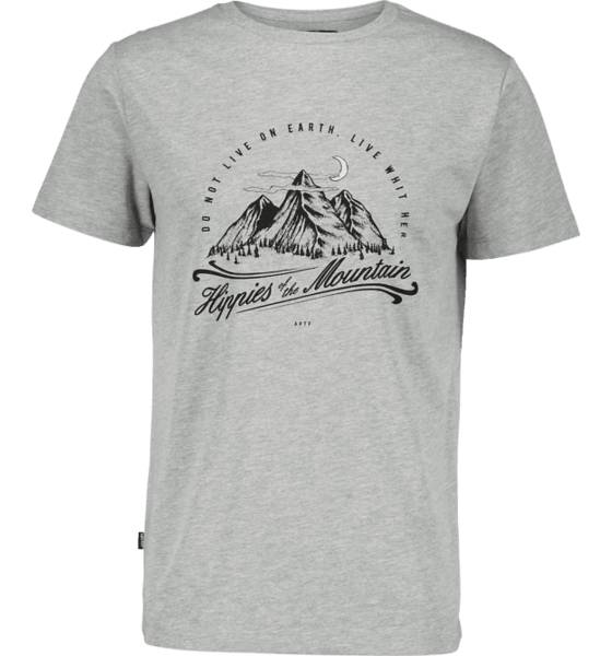 Appertiff M Hippies Of The Mountain Tee T-paidat GREY MELANGE (Sizes: S)