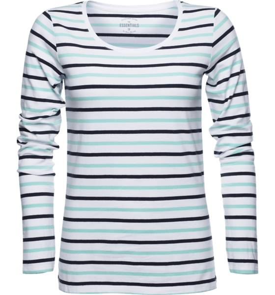 Race Marine Pitkähihaiset Race Marine W Ls Stripe Tee WHITE/ARUBA BLUE/N (Sizes: 38)