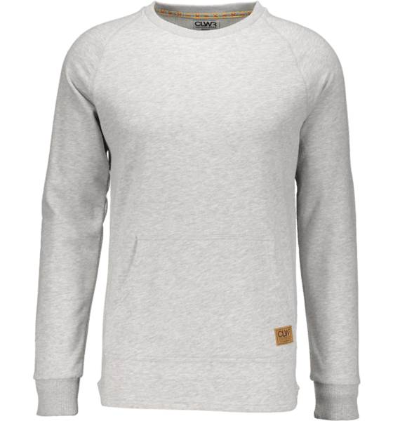 Colour Wear Pitkähihaiset Colour Wear M Drop Crew GREY MELANGE (Sizes: XL)