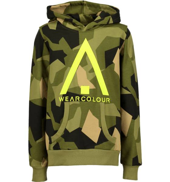 Wear Colour Pitkähihaiset Wear Colour J Patch Hood ASYMMETRIC OLIVE (Sizes: 130)