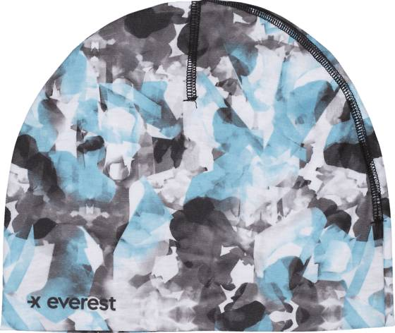 Everest Retkeilyvaatteet Everest J Adv Helmet Cap WHITE/BLACK/RADIAN (Sizes: One size)