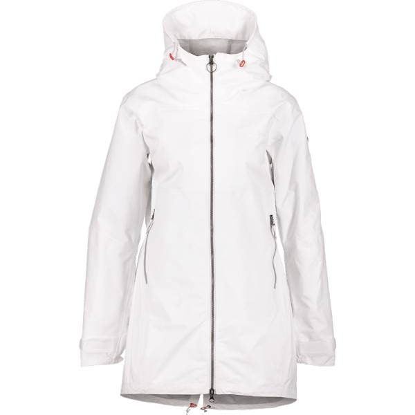 Didriksons W Hilde Jacket Retkeilyvaatteet SNOW WHITE (Sizes: 44)