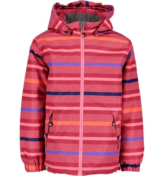 Color Kids Retkeilyvaatteet Color Kids J Saigon Padded Jacket Aop RASBERRY (Sizes: 122)