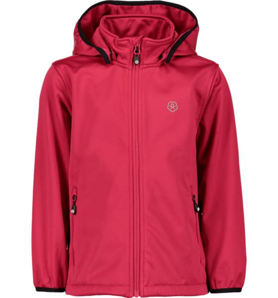 Color Kids Retkeilyvaatteet Color Kids J Ralado Softshell Jacket RASBERRY (Sizes: 122)
