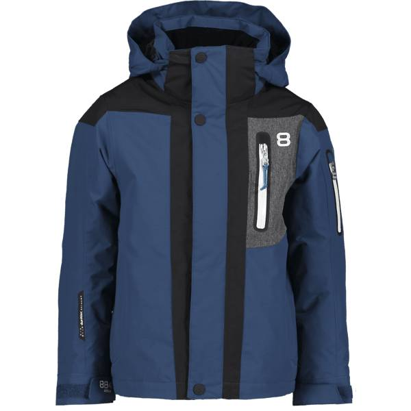 8848 Altitude J Aragon Jr Jacket Lasketteluvaatteet DEEP DIVE (Sizes: 140)