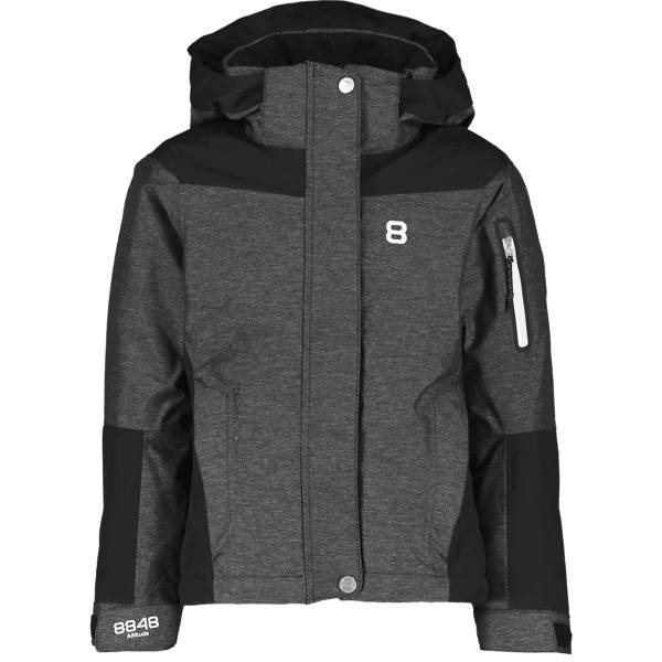 8848 Altitude J Safira Jr Jacket Lasketteluvaatteet BLACK (Sizes: 130)