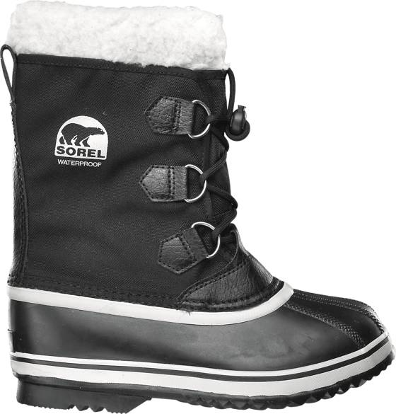 Sorel Yoot Pac Nylon Jr2 Varsikengät BLACK (Sizes: 1)