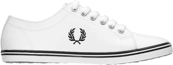 Fred Perry Tennarit Fred Perry U Kingston Leather PORCELAIN/NAVY (Sizes: 41)