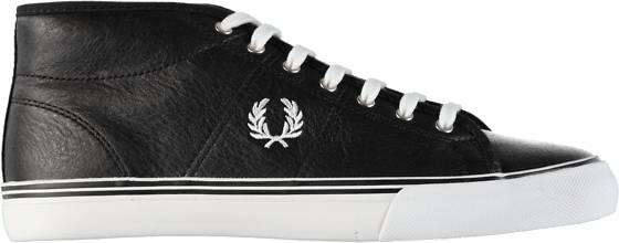 Fred Perry Tennarit Fred Perry W Kendrick Mid Winter BLACK (Sizes: 39)