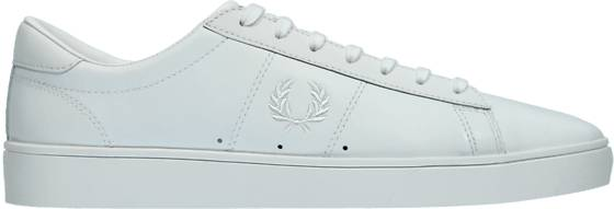 Fred Perry M Spencer Leather Tennarit WHITE/WHITE (Sizes: 43)