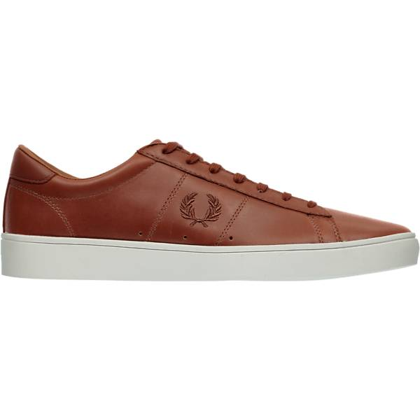 Fred Perry M Spencer W Leather Tennarit TAN (Sizes: 43)
