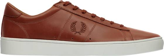 Fred Perry M Spencer W Leathr Tennarit TAN (Sizes: 43)